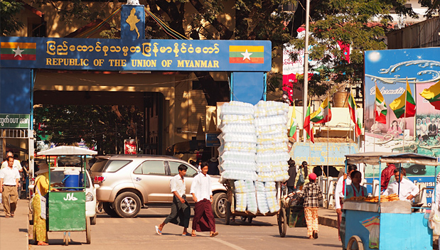 Nieuwe grensovergangen tussen Myanmar en Thailand