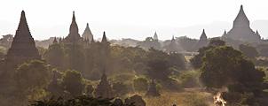 Modern gevaar voor Bagan's oude tempels